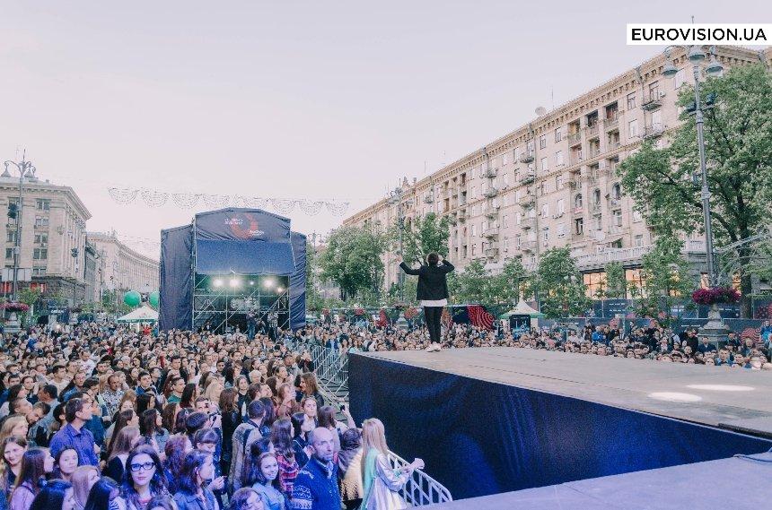Eurovision Village: как выглядит городок Евровидения на Крещатике (фото)