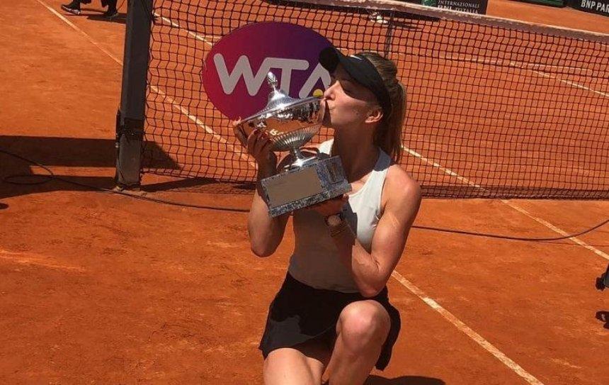 Украинка Свитолина выиграла в финале теннисного турнира в Риме