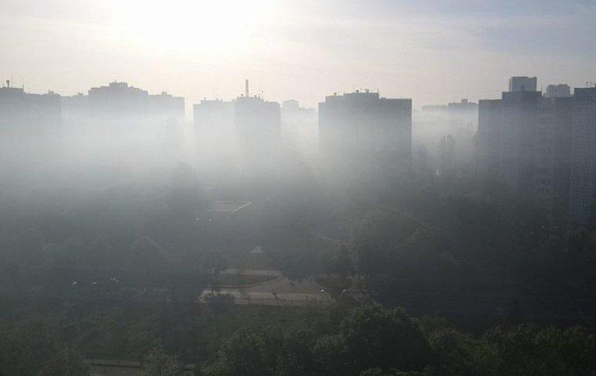 Подольский район затянуло дымом (фото)