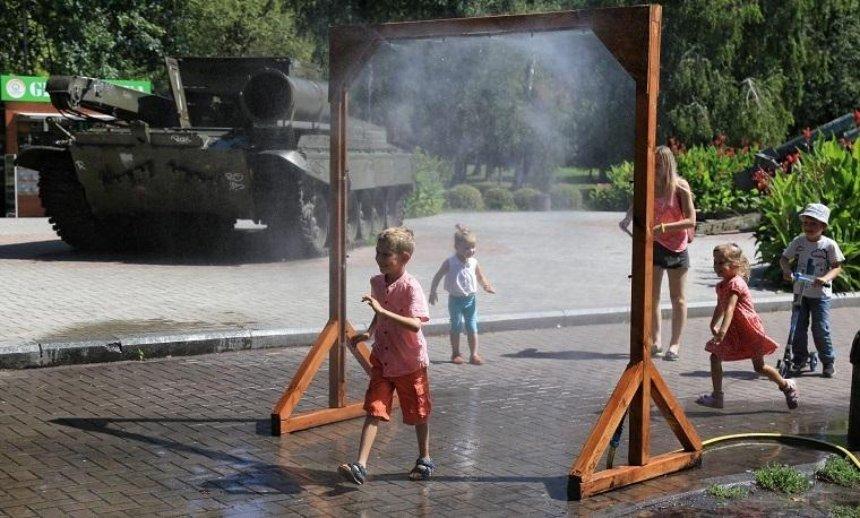 В столичных парках появятся рамки-распылители (адреса)