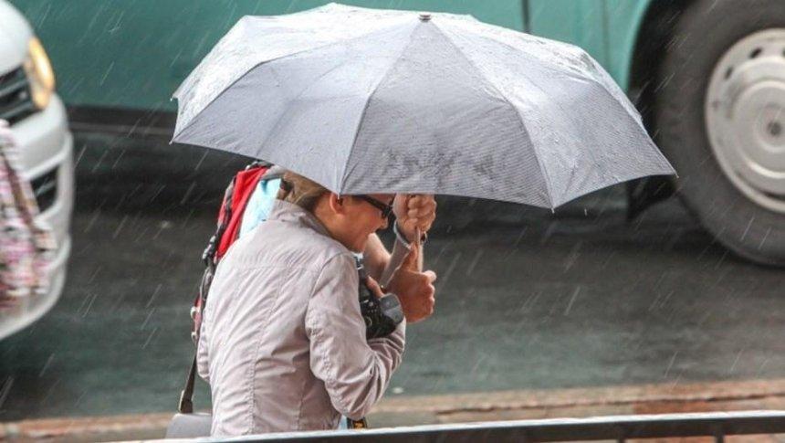 На Киев движется циклон Xerxes с дождями и грозами
