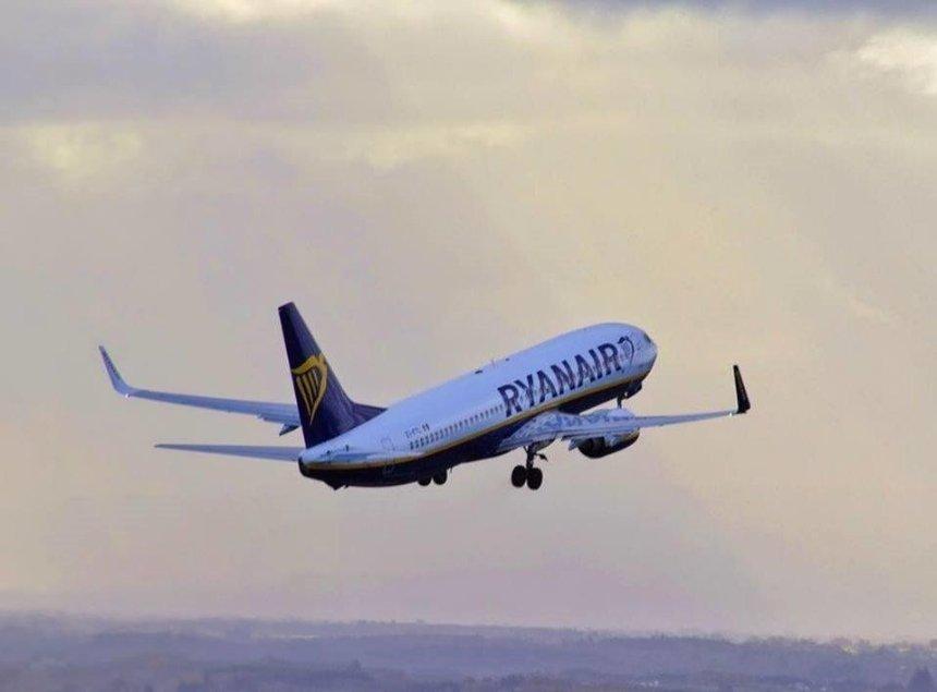 Восени Ryanair запускає додаткові рейси до Варшави
