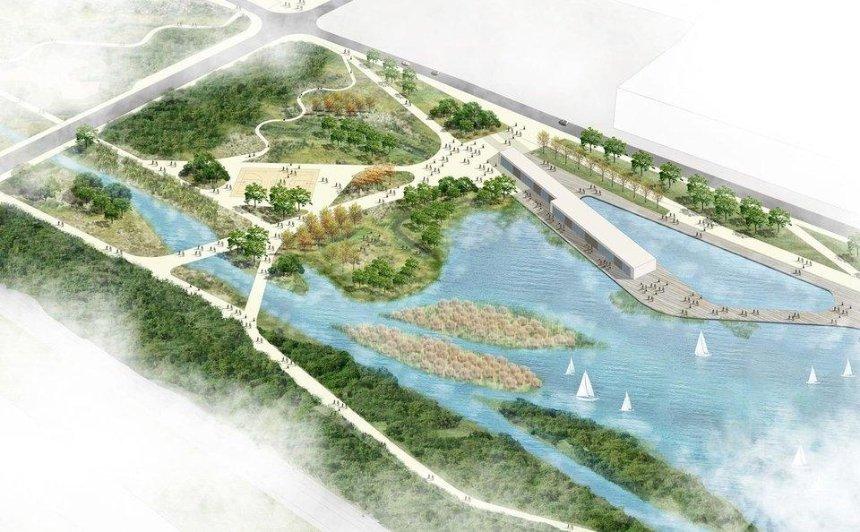 В Києві підписали угоду на проектування парку «Почайна»: що там буде