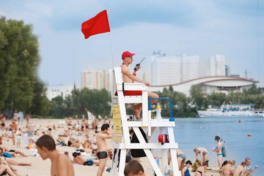Пляжный сезон в Киеве хотят открыть 1 июня