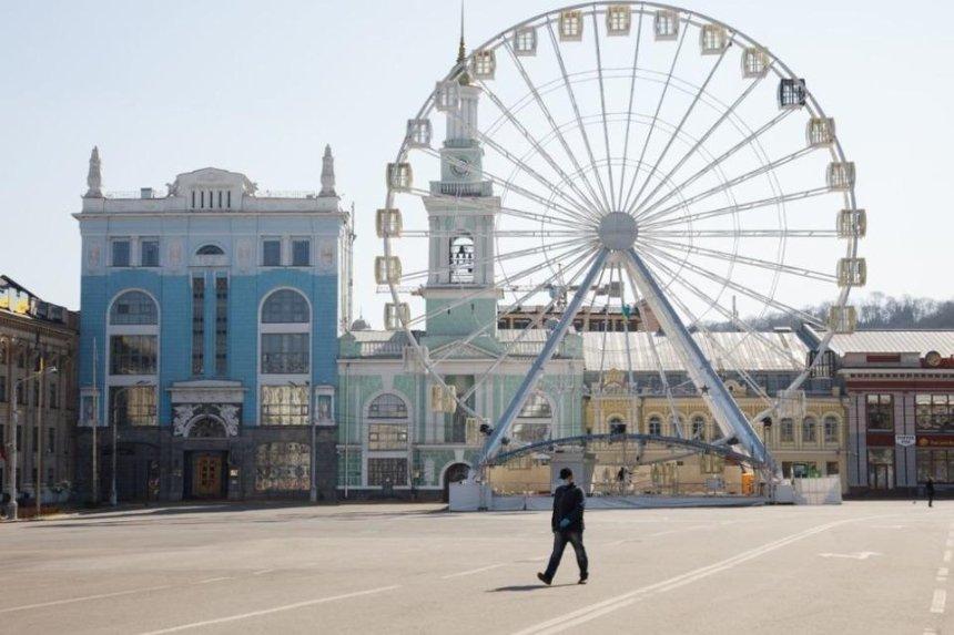 Суд признал незаконной пешеходную зону на Контрактовой площади