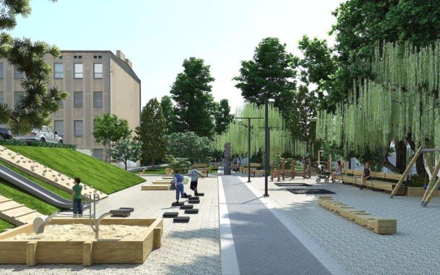 На Бульварно-Кудрявской хотят реконструировать сквер: проект разработали местные жители