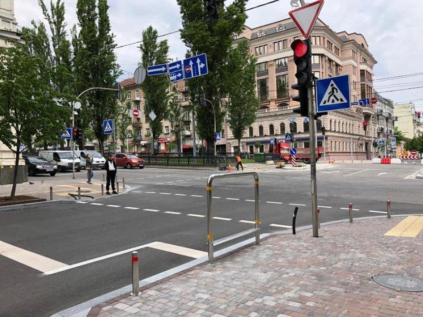 Как выглядит отремонтированная улица Пушкинская с велодорожкой