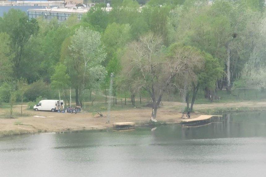 Скандальный вейк-парк на Оболони: владелец рассказал, что будут строить