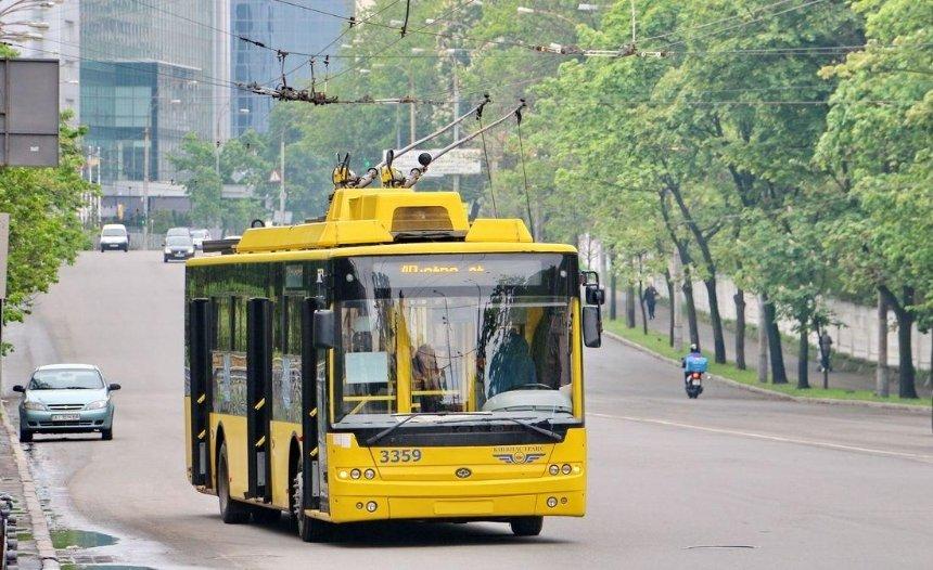 Жители Троещины просят запустить троллейбус до вокзала