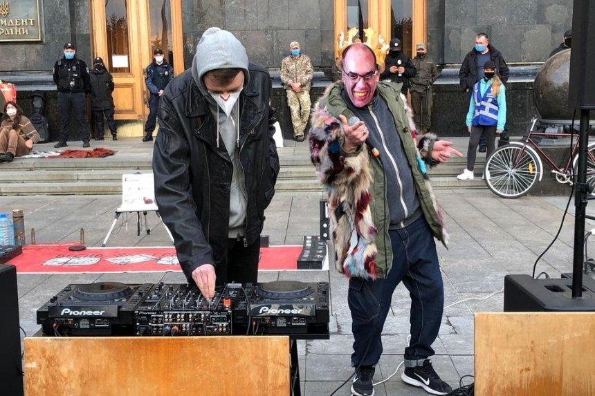 На Банковой устроили «хип-хоп протест» с требованием уволить главу МОЗ Степанова