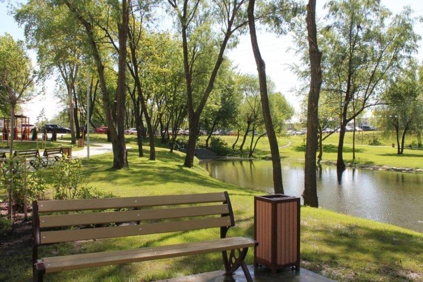 Ко Дню Киева хотят открыть вторую очередь парка на проспекте Шухевича
