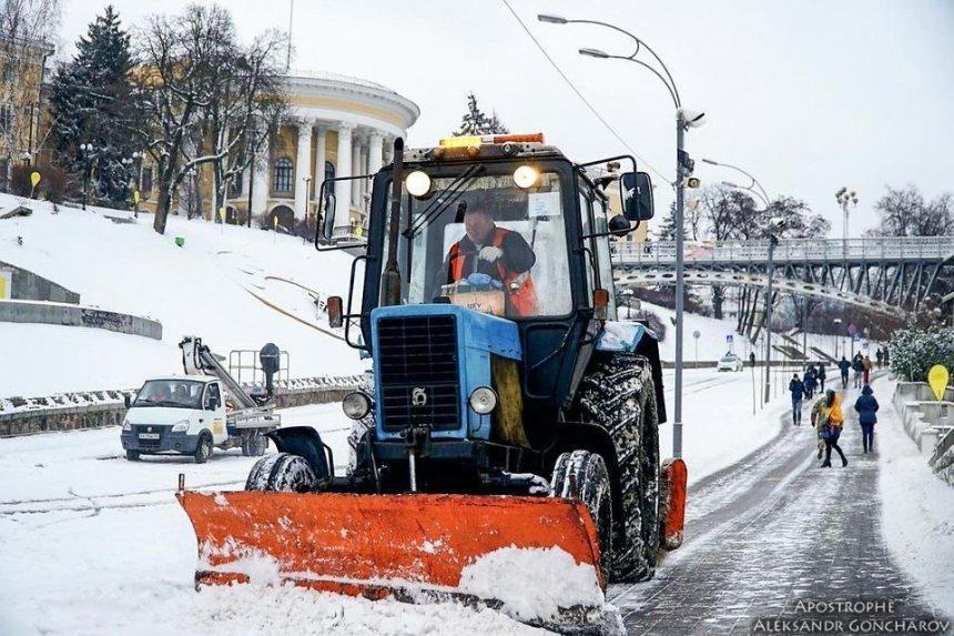 Кличко объяснил, куда ушли 400 млн грн на уборку снега в почти бесснежную зиму