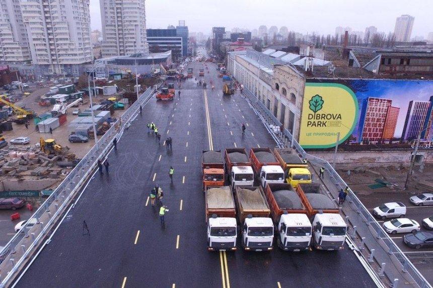 Строительство съезда с Шулявского моста снова отложили