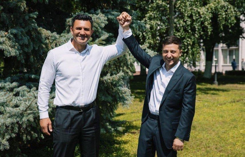 Зеленский провел «жесткий разговор» с Тищенко по поводу его ресторана, — ОП