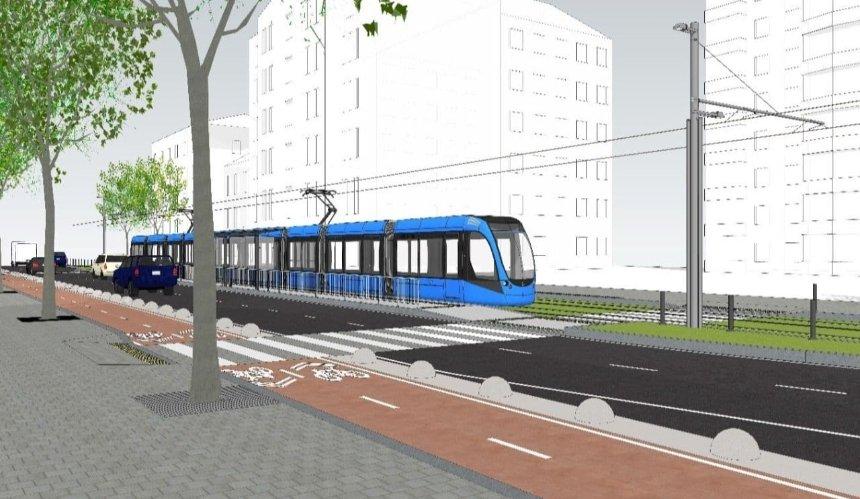 Трамвайная линия до «Дворца спорта»: объявлен тендер на разработку проекта