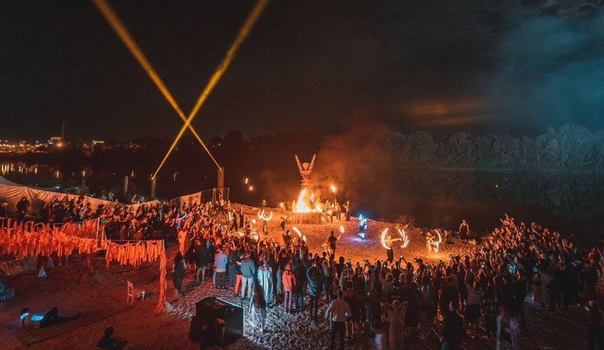 В промзоне под Киевом состоится двухдневная вечеринка «Речной рейв»