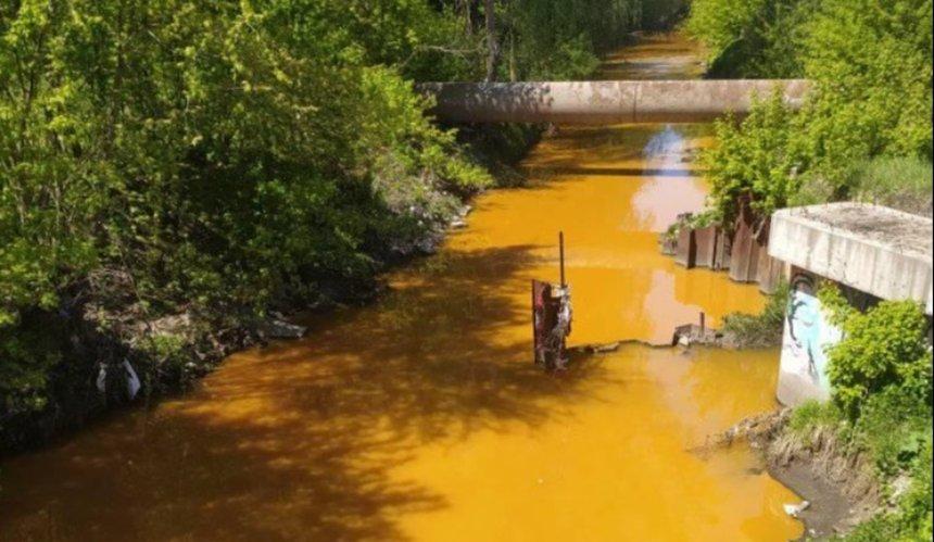 Вреку Лыбедь могли попасть загрязненные сточные воды,— «Плесо»