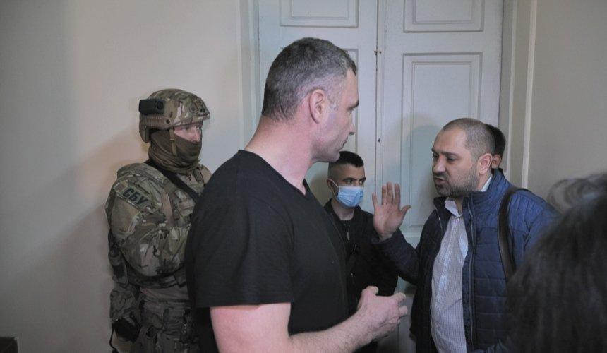 В СБУ объяснили причину визита в дом, где живет Кличко