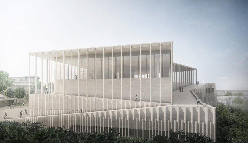 Немецкие архитекторы передали Киеву права на проект Музея Майдана