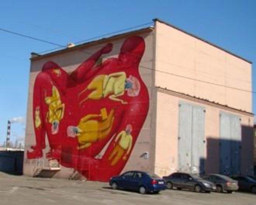 Киевский стрит-арт: ТОП-11 мест с новыми настенными рисунками