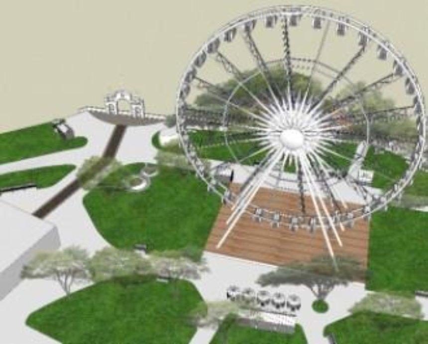 Киеву купили гигантское колесо обозрения