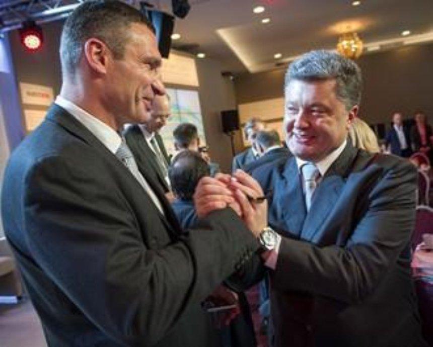 Порошенко назначил Кличко главой КГГА