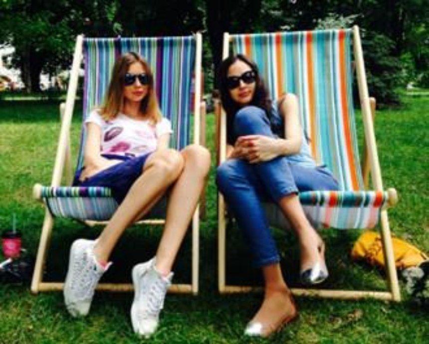 В киевских парках теперь можно арендовать шезлонги