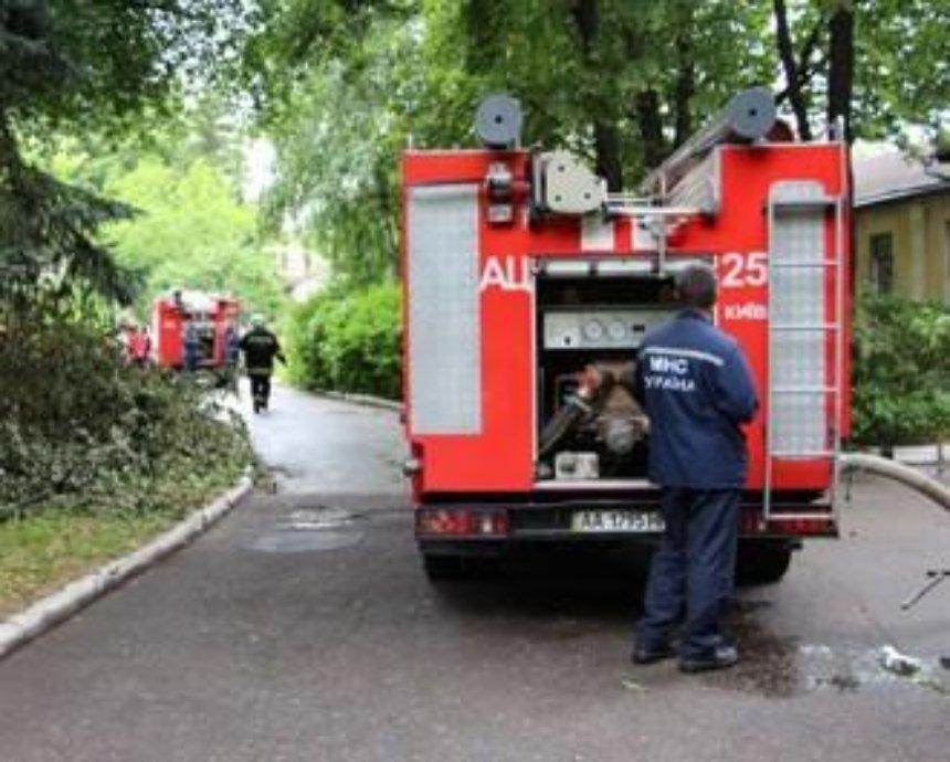 В Киеве горела психбольница Павлова