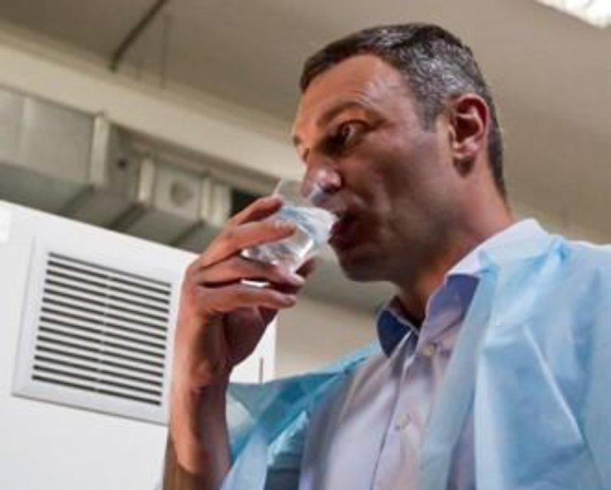 Кличко пообещал чистую воду по-немецки
