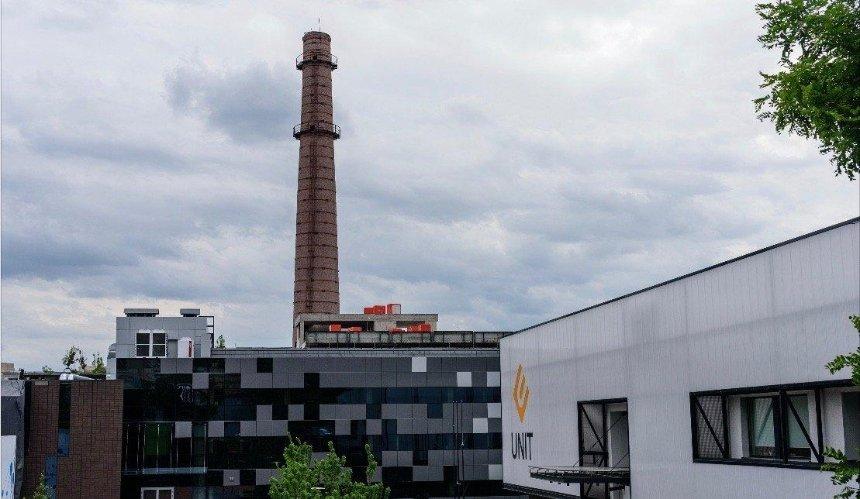 Трубу киевского завода превратят в самый высокий арт-объект