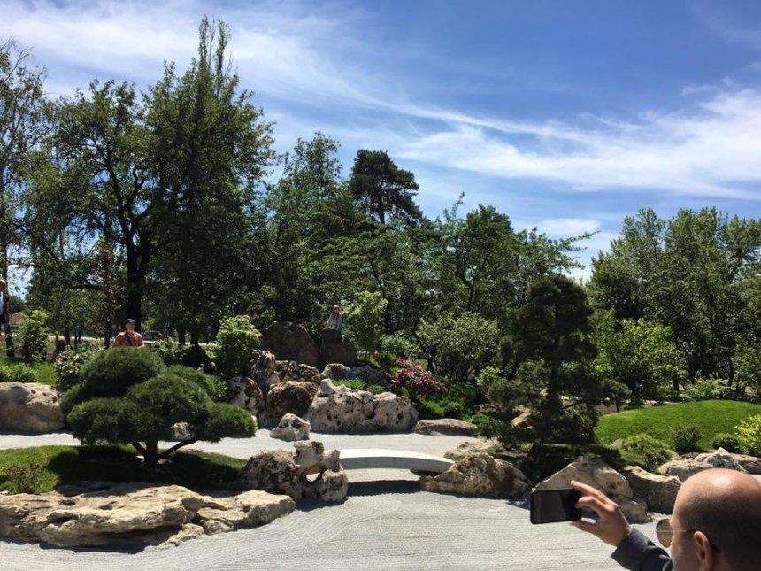 В парке Киото открыли Сад камней (фото)