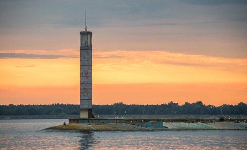 Как выглядит рассвет над Киевским морем (фото)