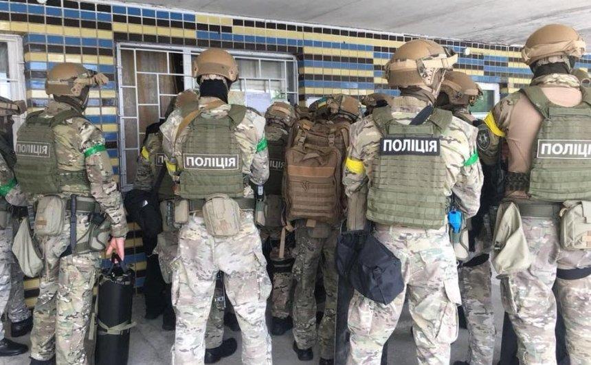 Освободить заложника: полиция Киева провела учения (фото)