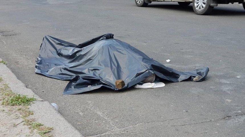 На Борщаговке пожилой велосипедист умер из-за жары (фото)