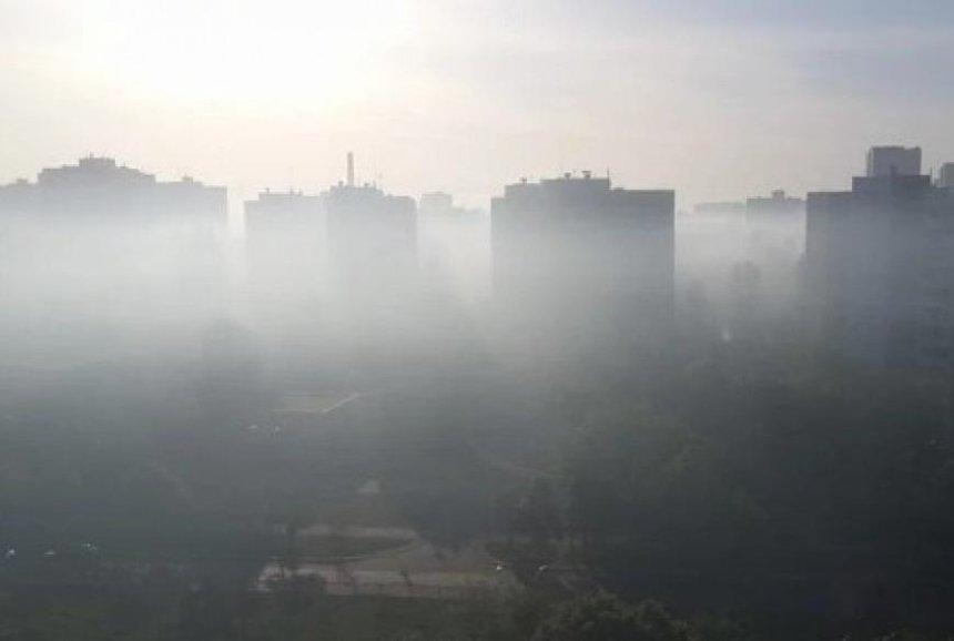 Жителей Киева предупредили о загрязненном воздухе