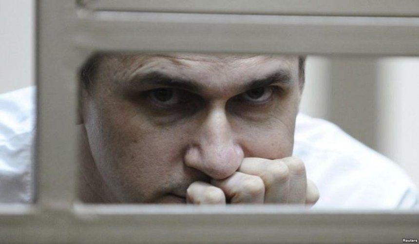 В Олега Сенцова з'явилися проблеми з нирками та серцем