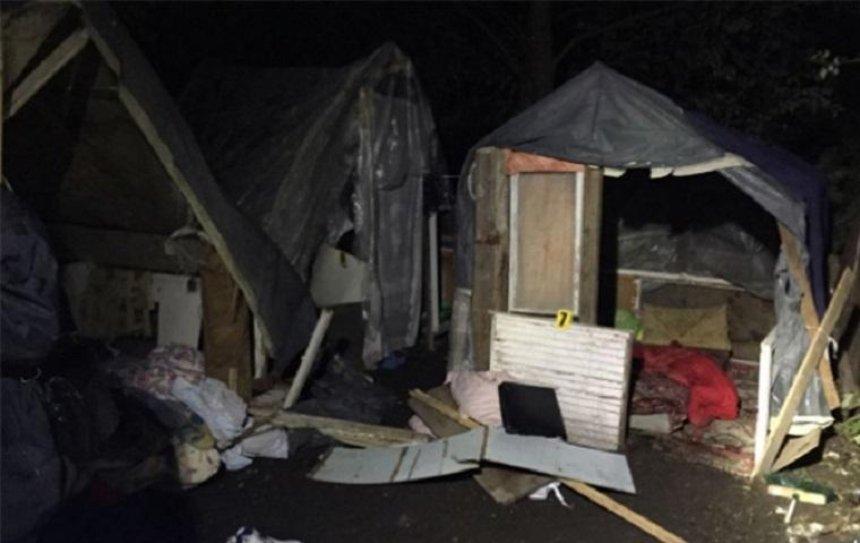 Нападение на лагерь ромов под Львом закончилось убийством (фото)
