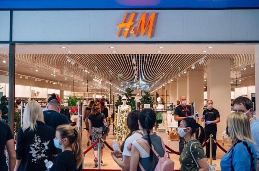 В Dream Town открылся самый большой в Украине магазин H&M