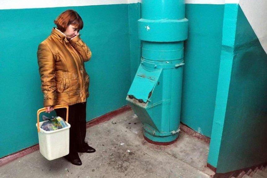 После заваривания мусоропроводов в Киеве подешевела коммуналка