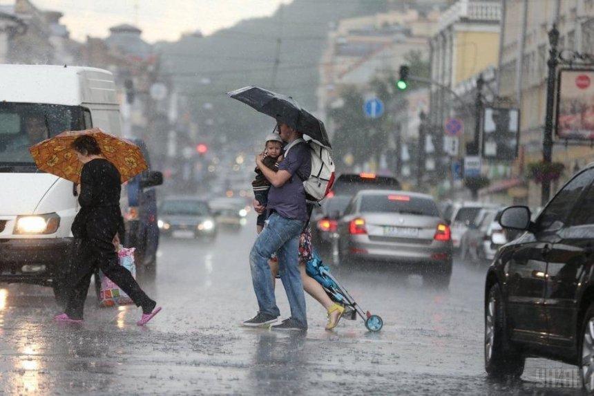 Сильные дожди и ветер: киевлян предупредили о непогоде 30 июня