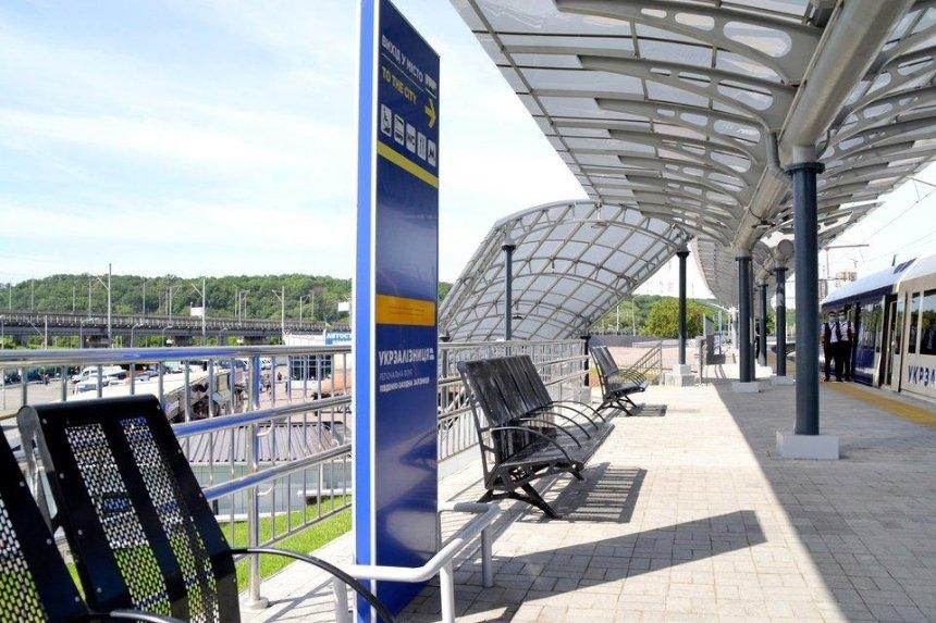 УЗ закончила реконструкцию станции «Выдубичи» — ее превратили в транспортный хаб