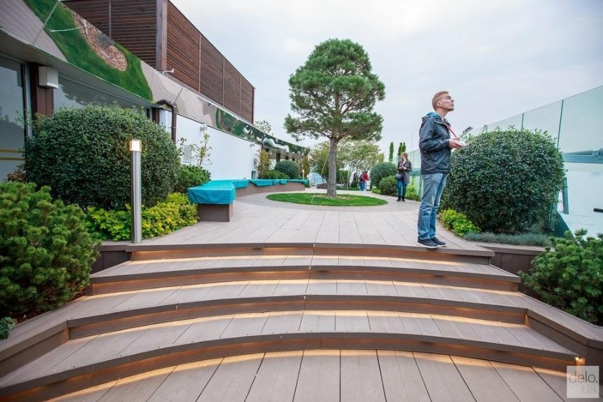 На крыше столичного коворкинга хотят обустроить уникальный сад