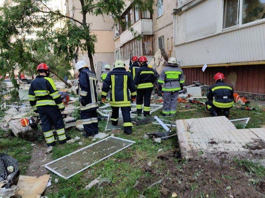 Взрыв на проспекте Григоренко: появилась информация о погибших