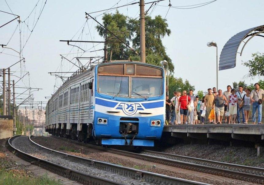 В Киеве возобновят движение городской электрички