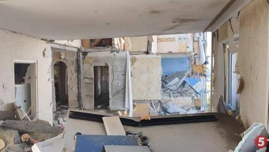 Взрыв на проспекте Григоренко: появилось видео изнутри полуразрушенного дома