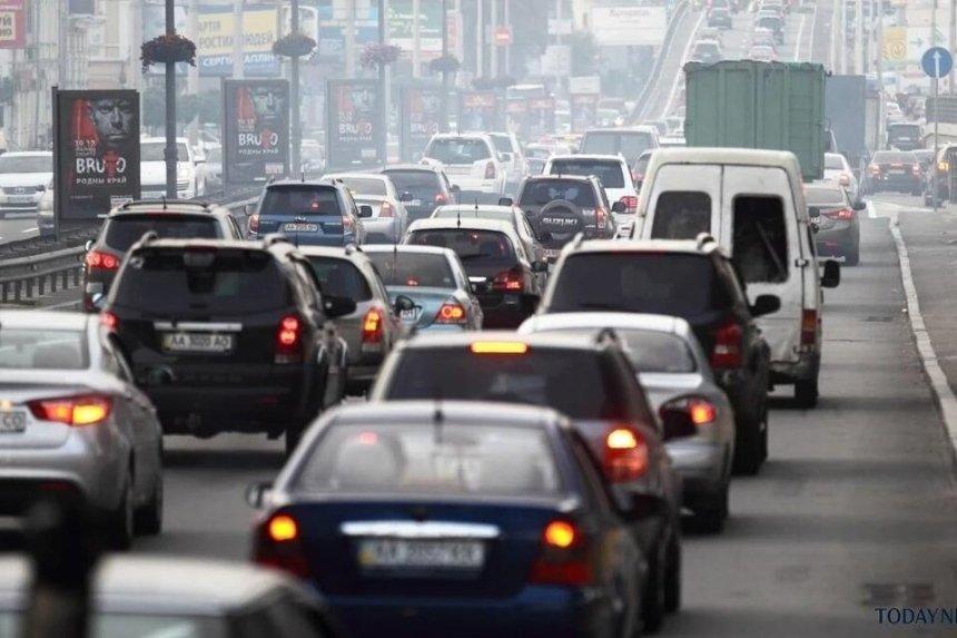 Киев поднялся в рейтинге городов с наибольшими пробками