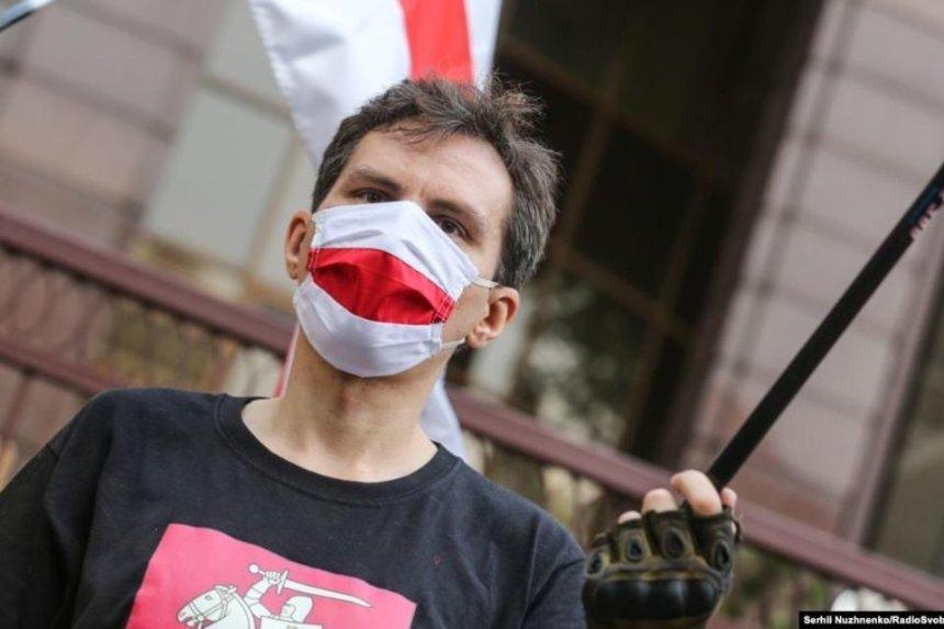 Под посольством Беларуси в Киеве прошла акция в поддержку демократических выборов