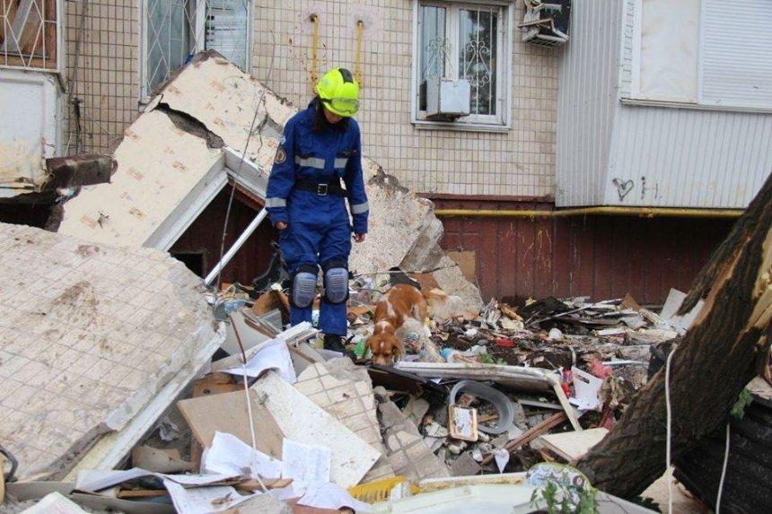 Взрыв на проспекте Григоренко: спасателям ничего не известно о втором погибшем