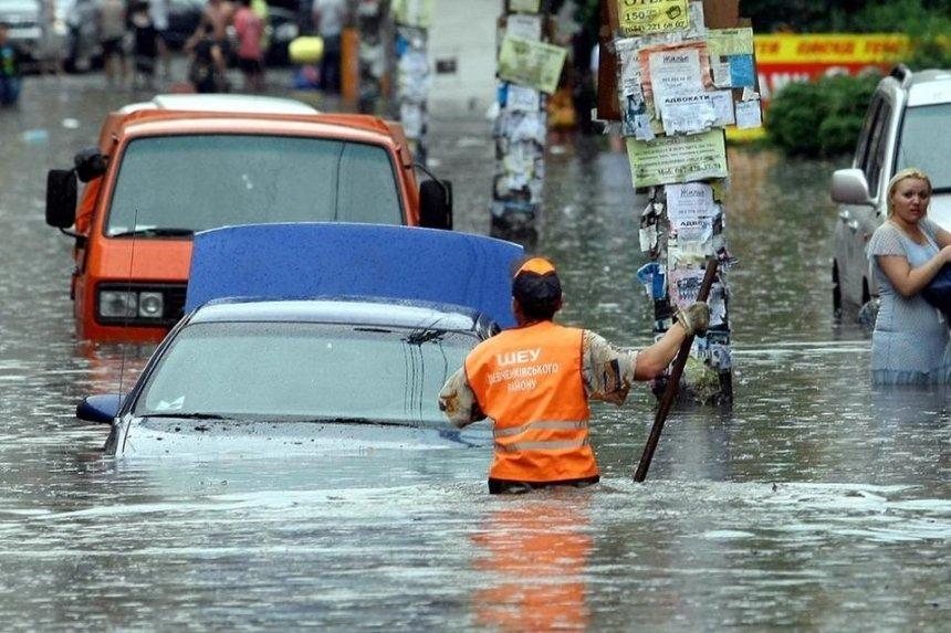 Киев затопило после мощного ливня: последствия
