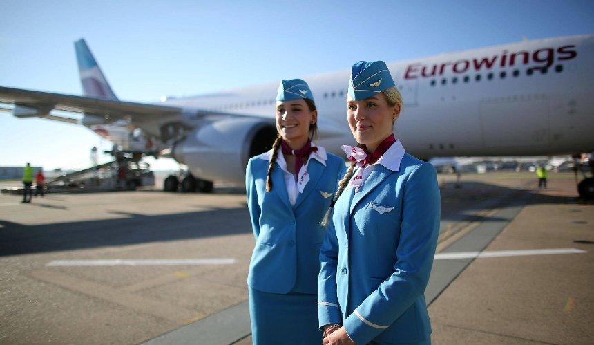Немецкий лоукостер Eurowings запускает рейсы вУкраину: дата инаправление